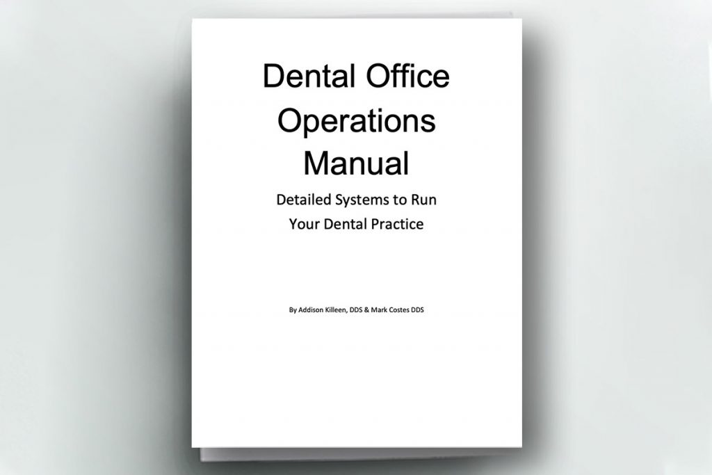 Cover page of a Dental Office Operations Manual